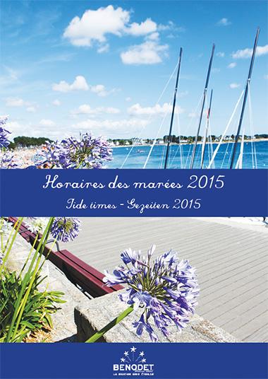 Brochure - Horaires des marées - Bénodet