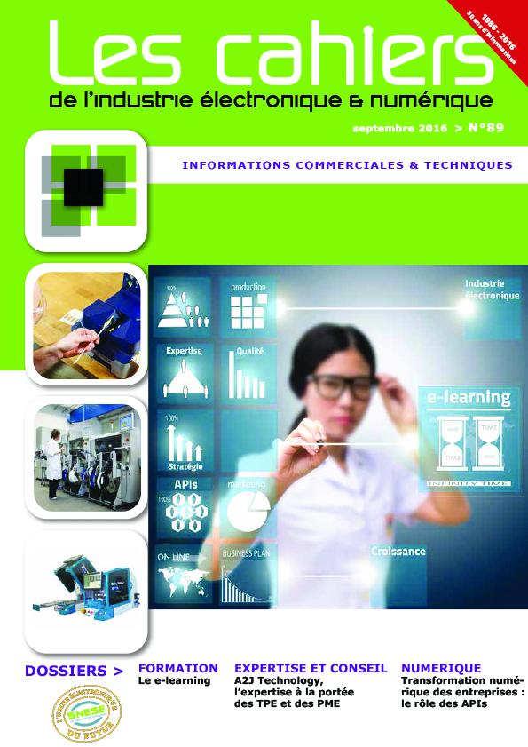 Magazine - Les Cahiers de l'Industrie Electronique et Numérique - N°89