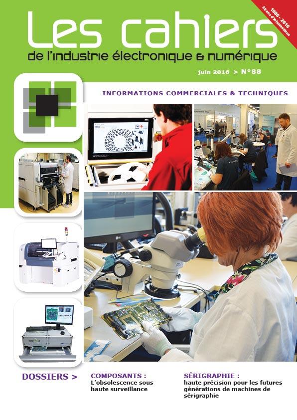 Magazine - Les Cahiers de l'Industrie Electronique et Numérique - N°88